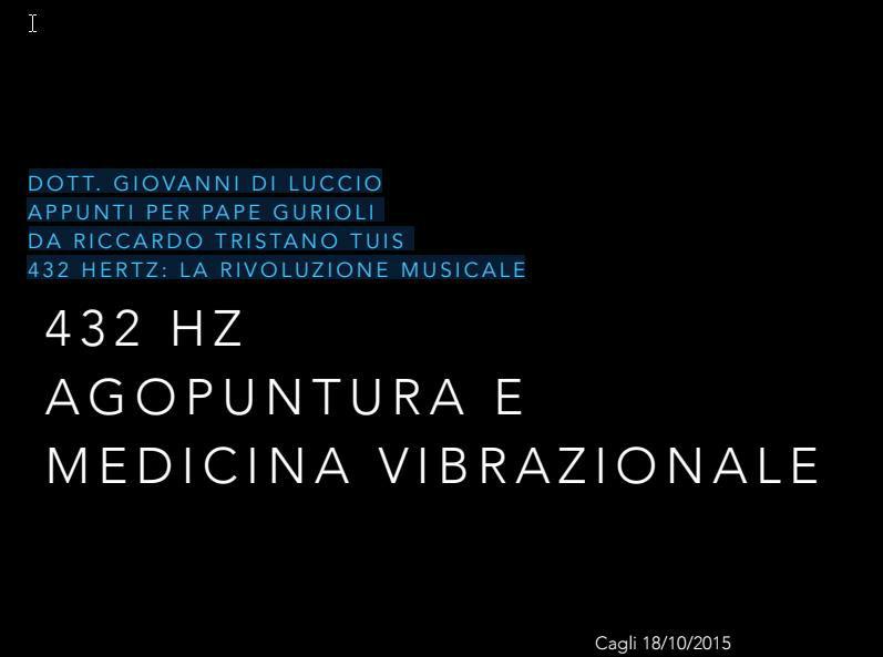 musicoterapia medicina vibrazionale